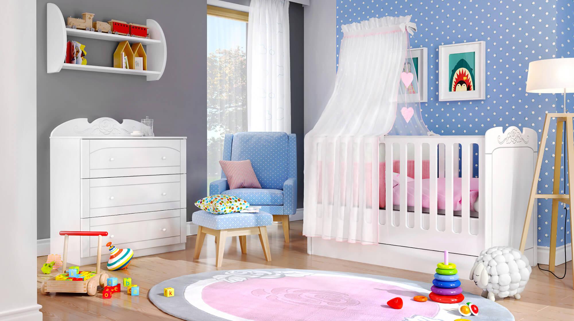 Приказна детска стая за най-малките
