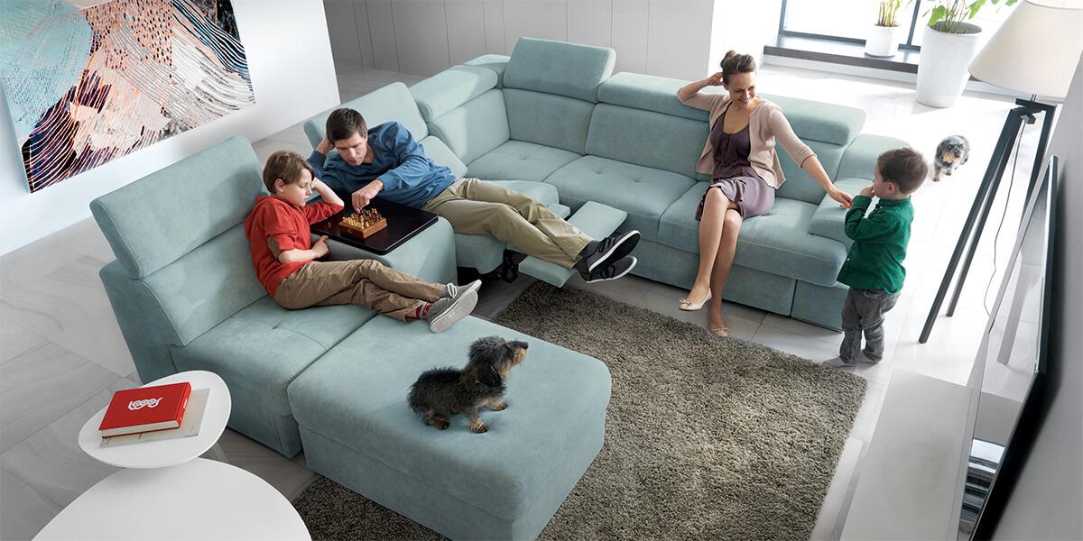 Модулните дивани - най-доброто решение за всяка всекидневна