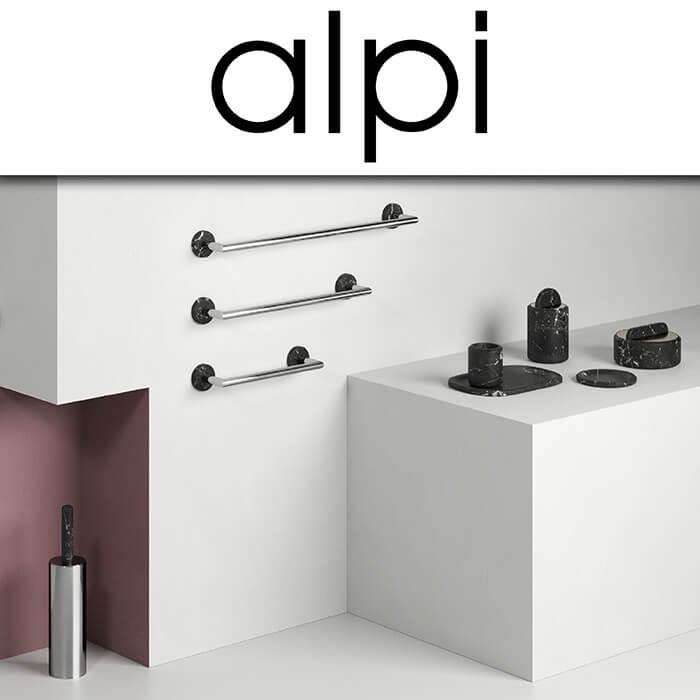 Каталог с аксесоари за баня Alpi