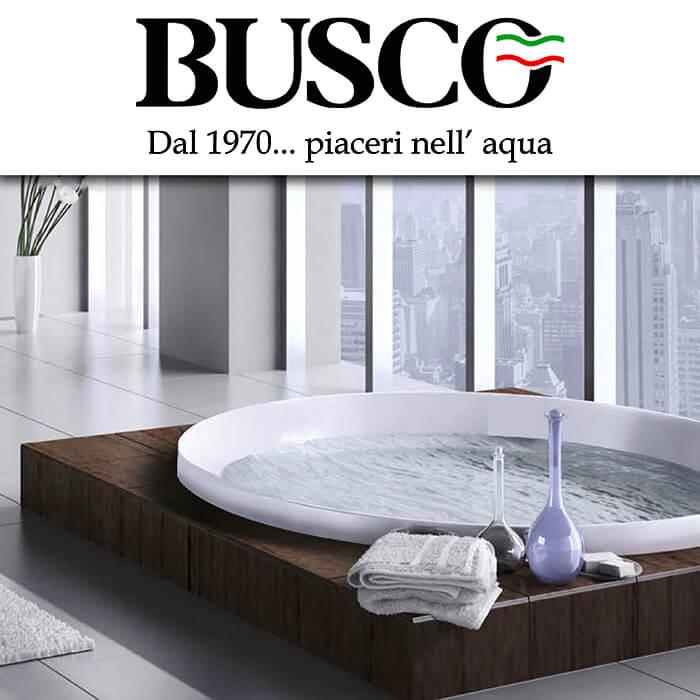 Каталог за душове и вани Busco