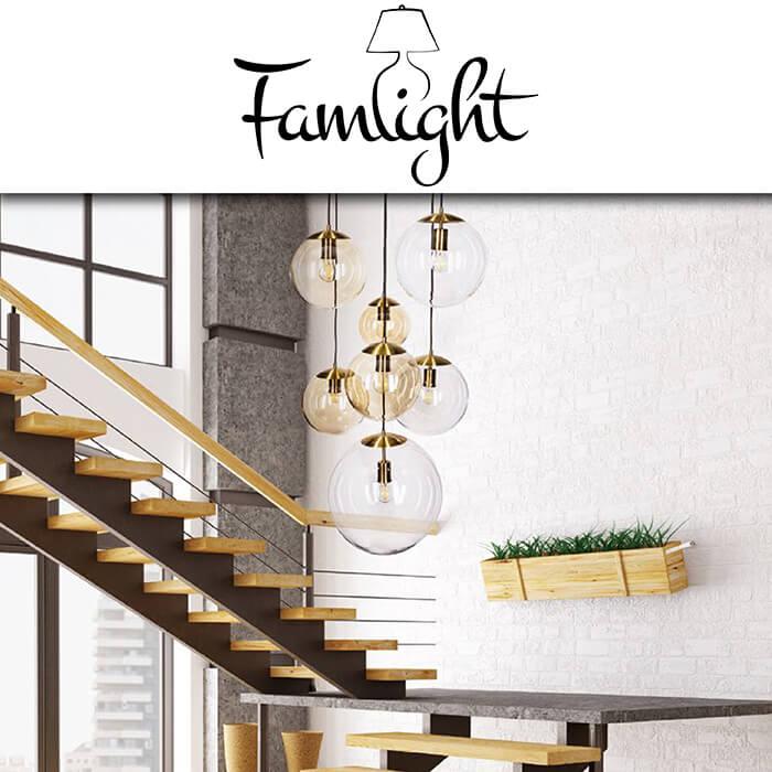 Каталог осветителни тела Famlight