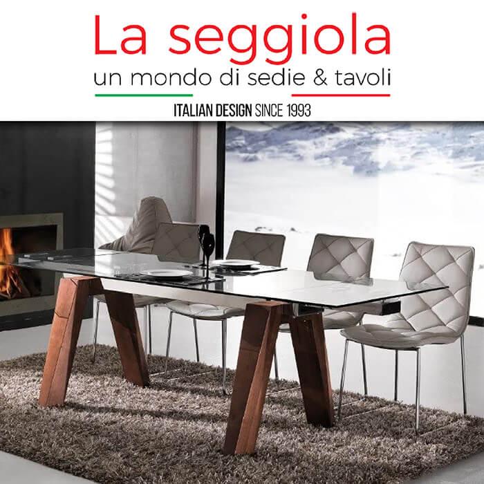 Каталог с мебели La Seggiola, Италия