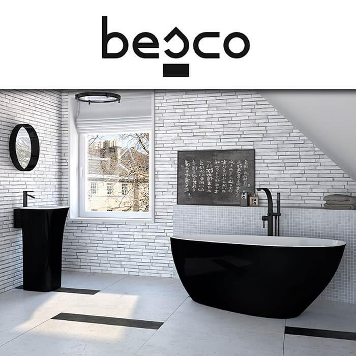Каталог за душове и вани Besco