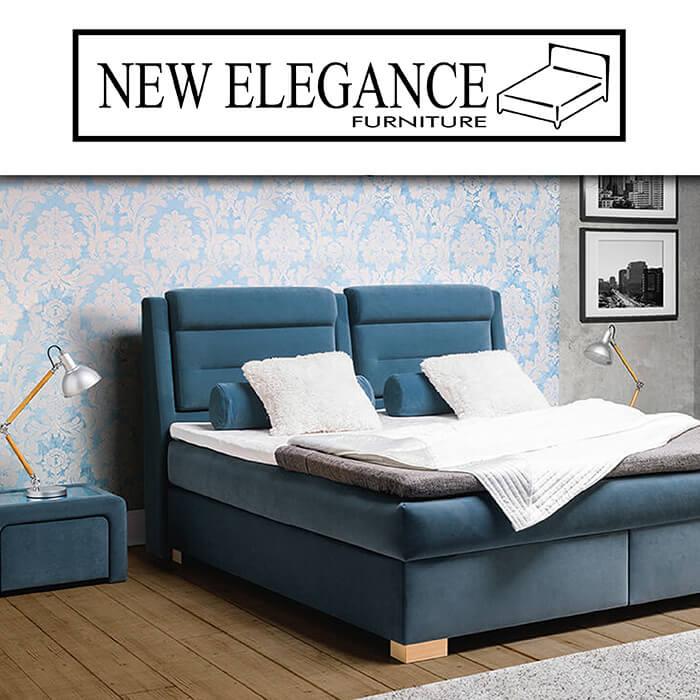 Каталог за тапицирани легла New Elegance