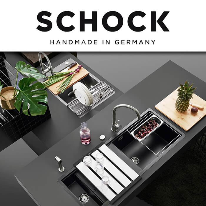 Каталог с кухненски мивки Schock
