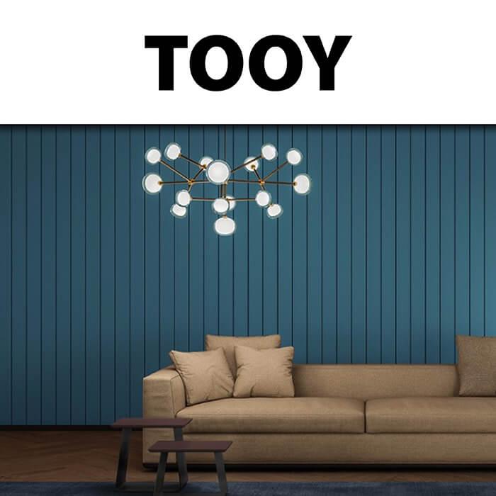 Каталог осветителни тела Tooy