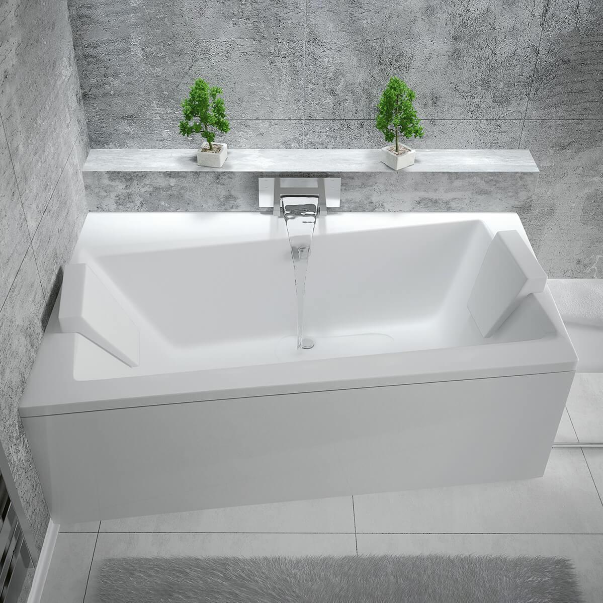 Асиметрична вана за вграждане Infinity 170 L/R