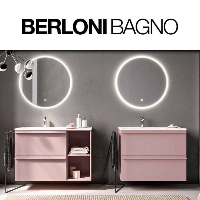 Каталог с мебели за баня BerloniBagno