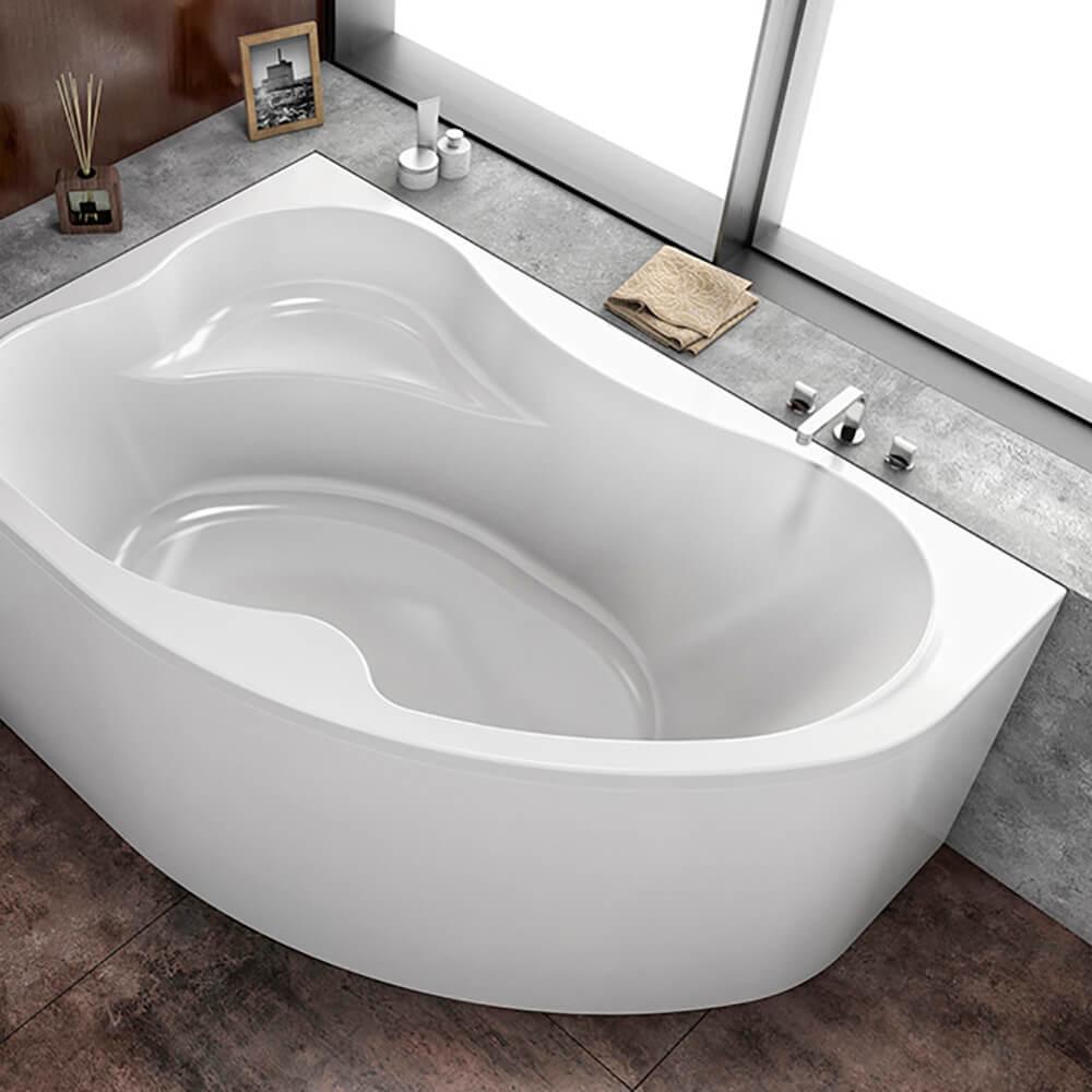 Ъглова вана за вграждане Lulu-D