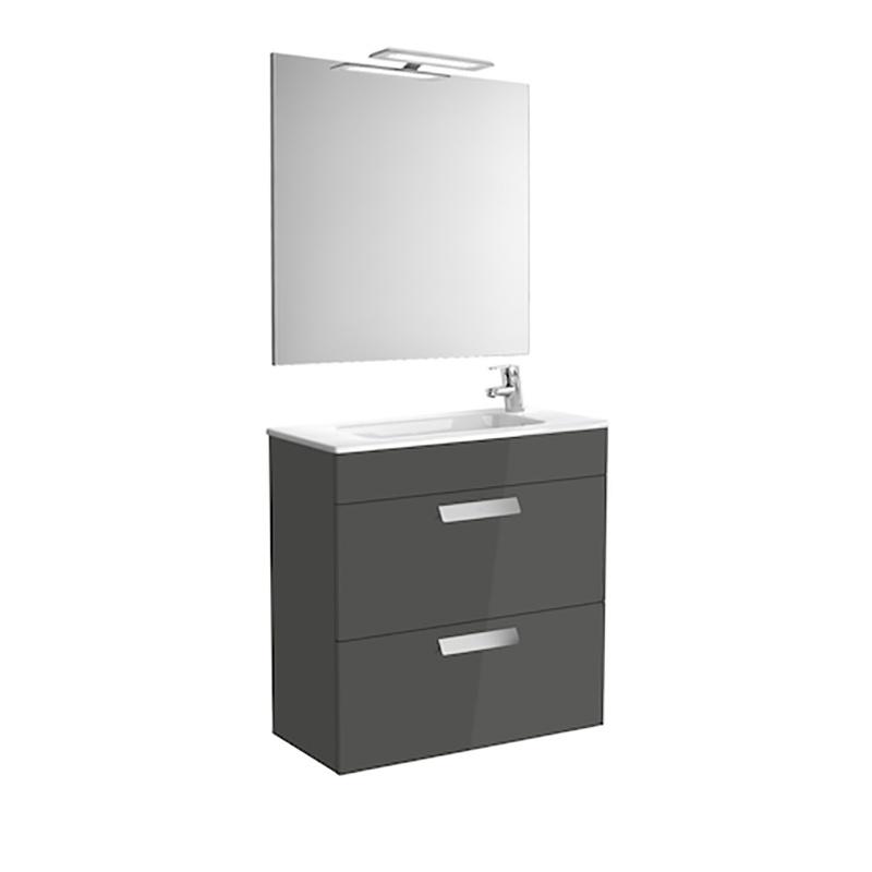 Roca Debba - шкаф за баня с огледало Pack 700