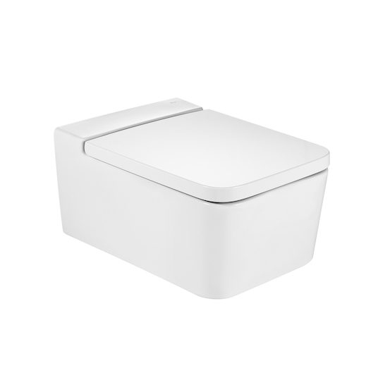 Roca Inspira Rimless Toilet Square Esteta Interiori