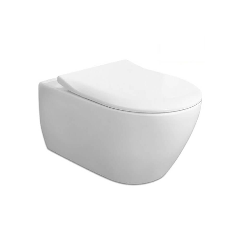 Конзолна тоалетна със седалка и капак Villeroy and Boch Subway 2.0