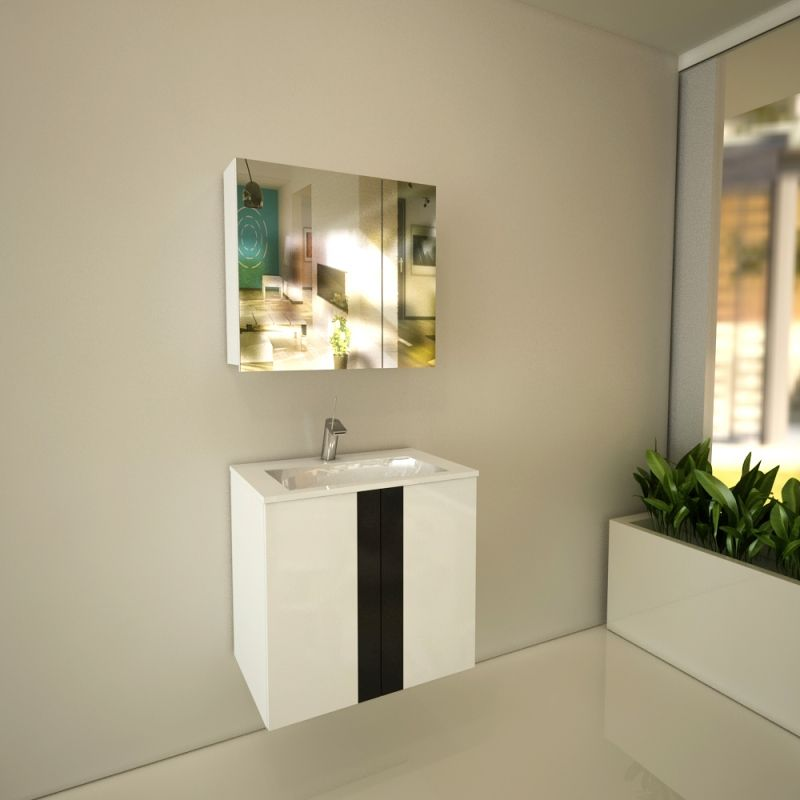 Шкаф за баня Fiore