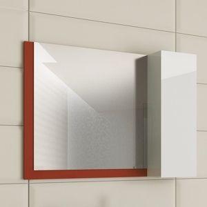 Горен шкаф с огледало за баня Kara