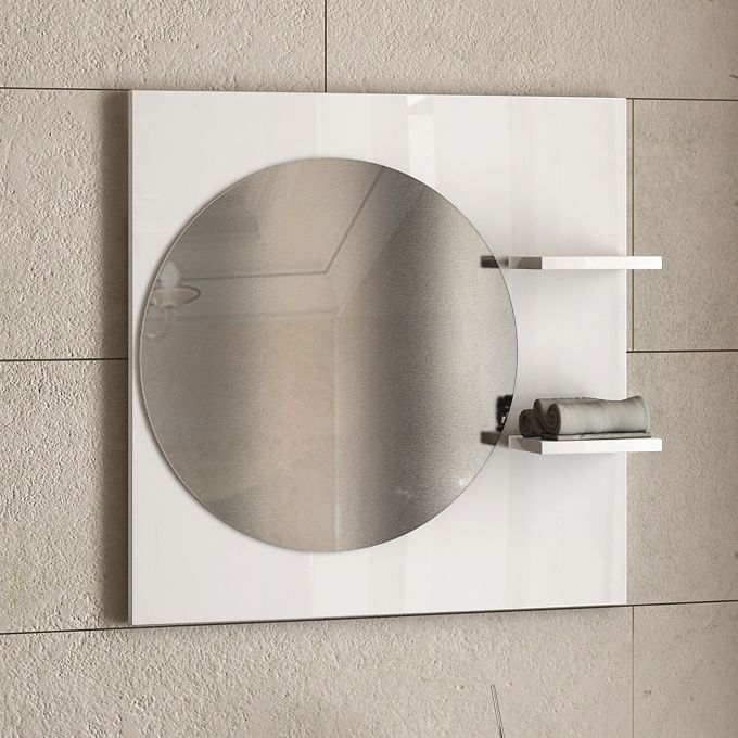 Огледало за баня с полици Lita