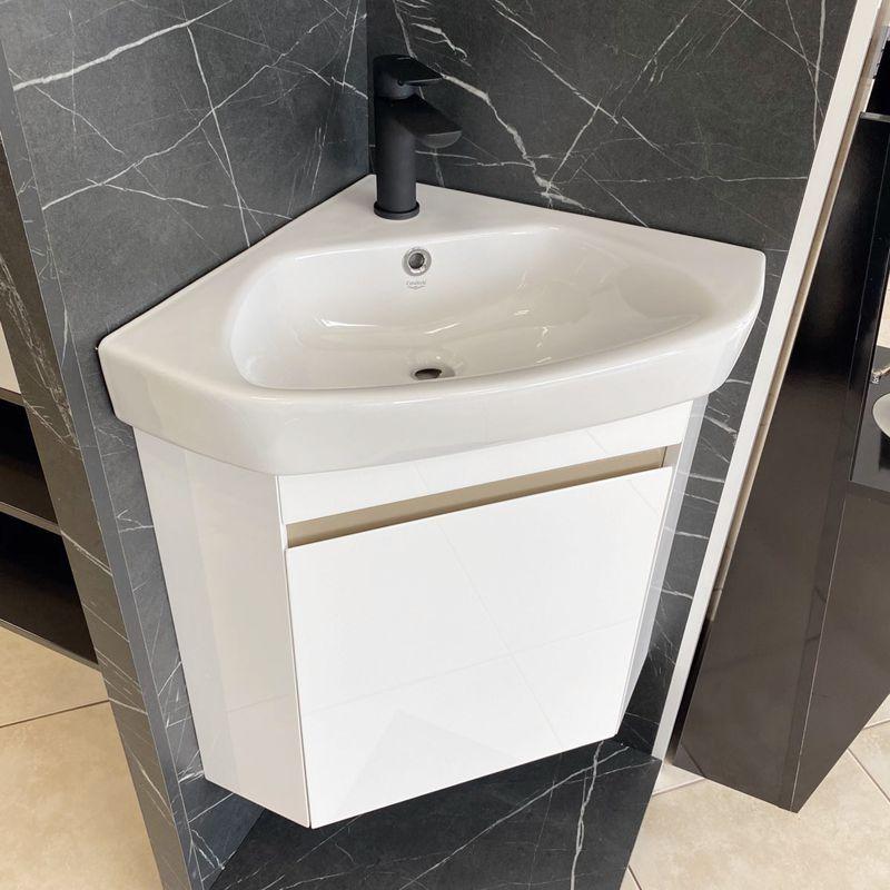 Ъглов шкаф за баня Vivid