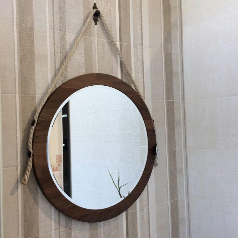 Огледало за баня Woodstyle Noce Americano