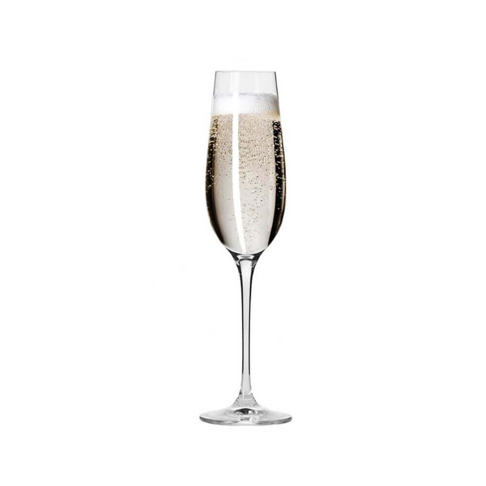 Сет от 6 чаши за шампанско 180 мл Harmony, Krosno