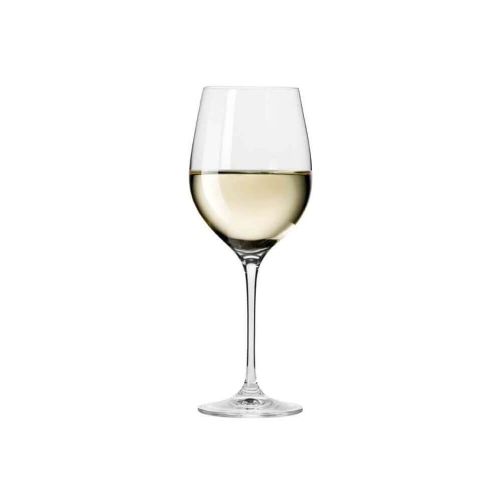 Сет от 6 чаши за бяло вино 370 мл Harmony, Krosno