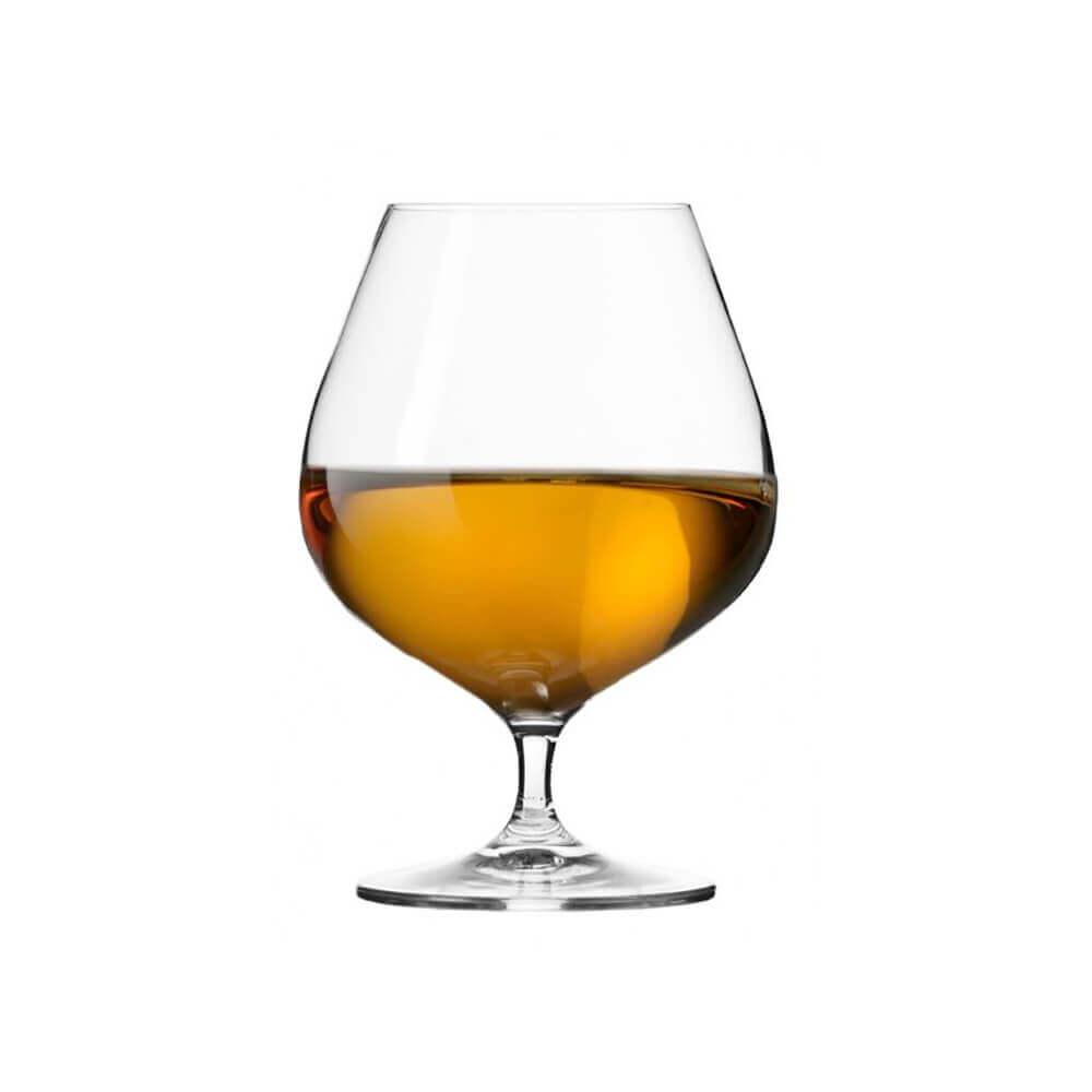Сет от 6 чаши за коняк 550 мл Harmony, Krosno