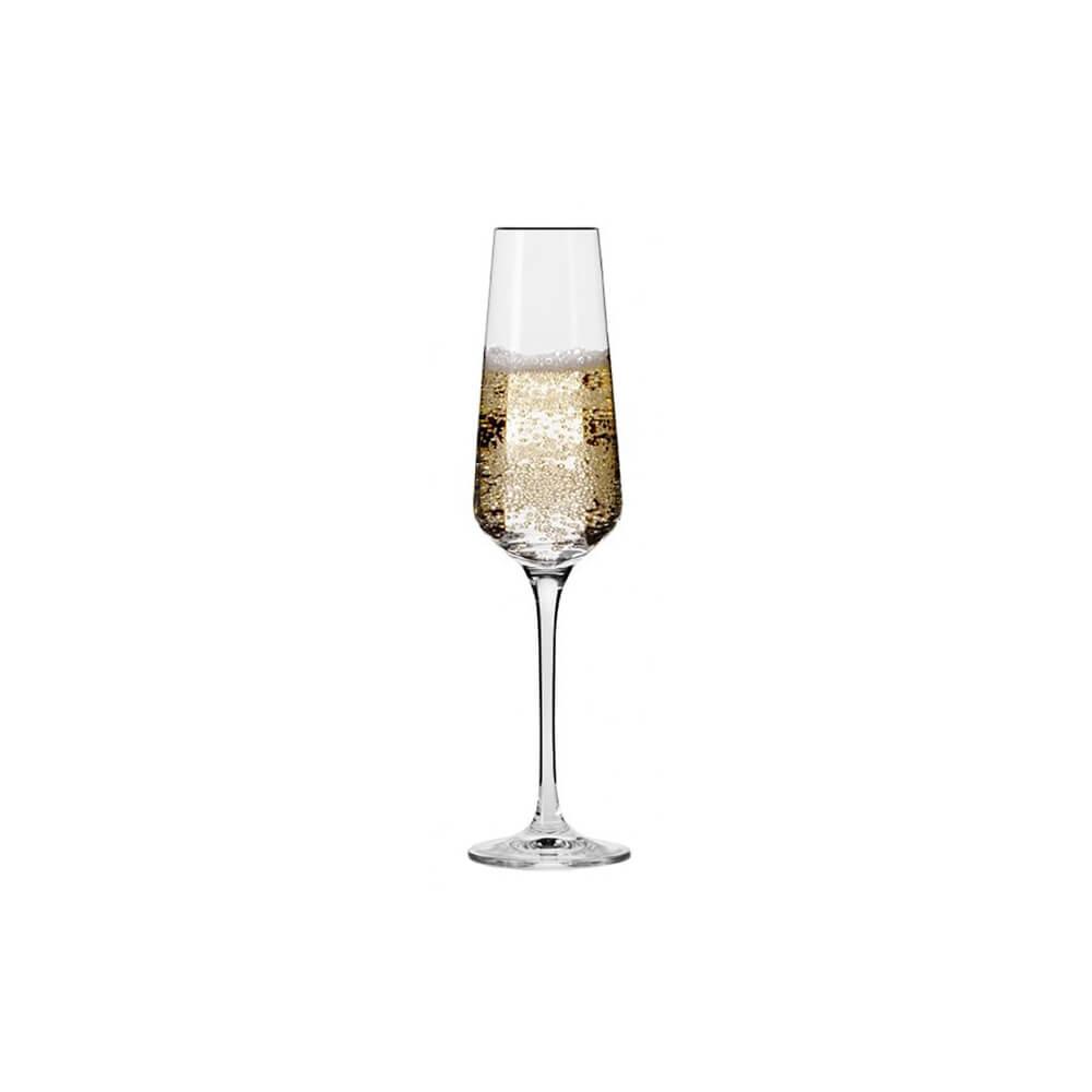 Сет от 6 чаши за шампанско 180 мл Avant-garde, Krosno