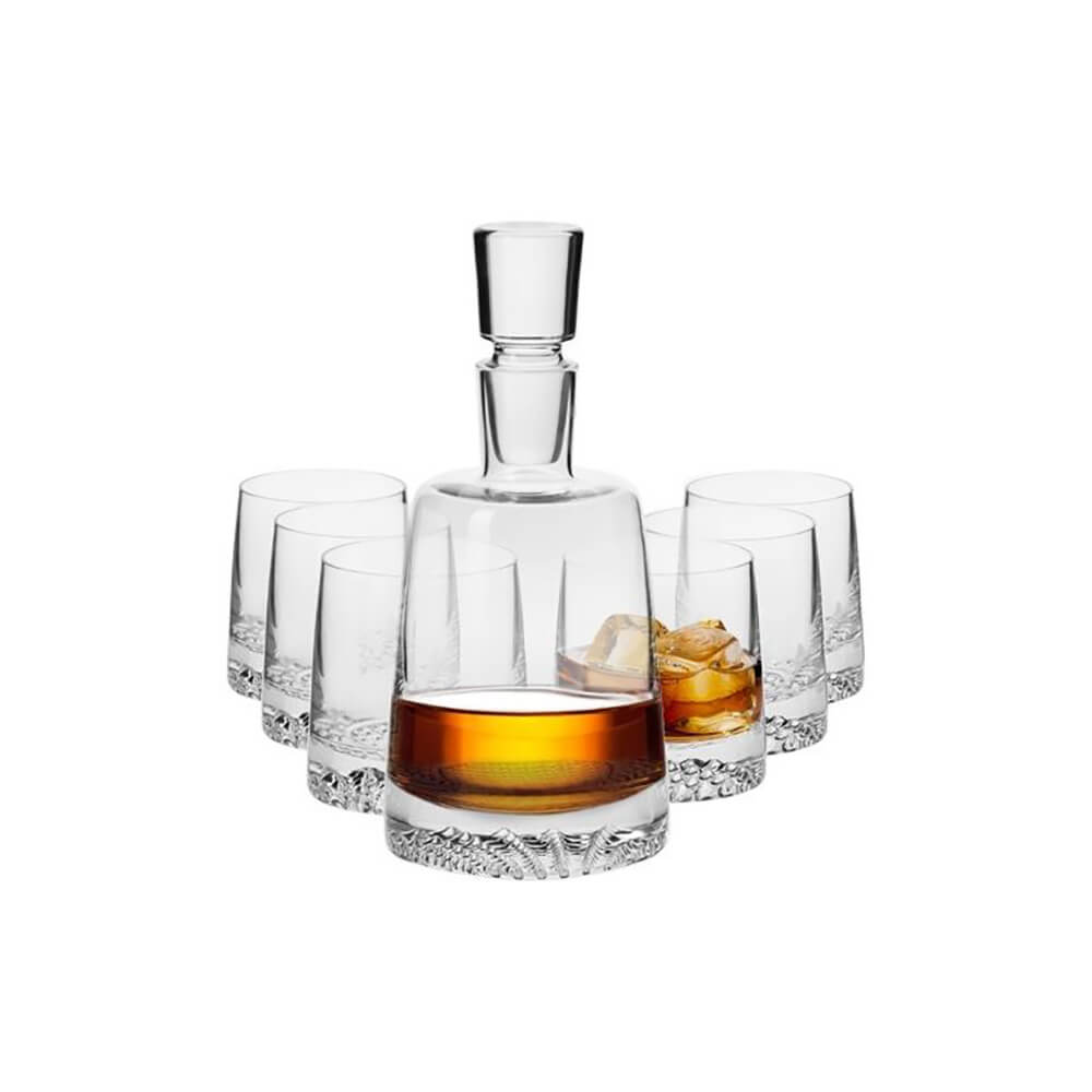 Сет за уиски - 7 части Fjord, Krosno