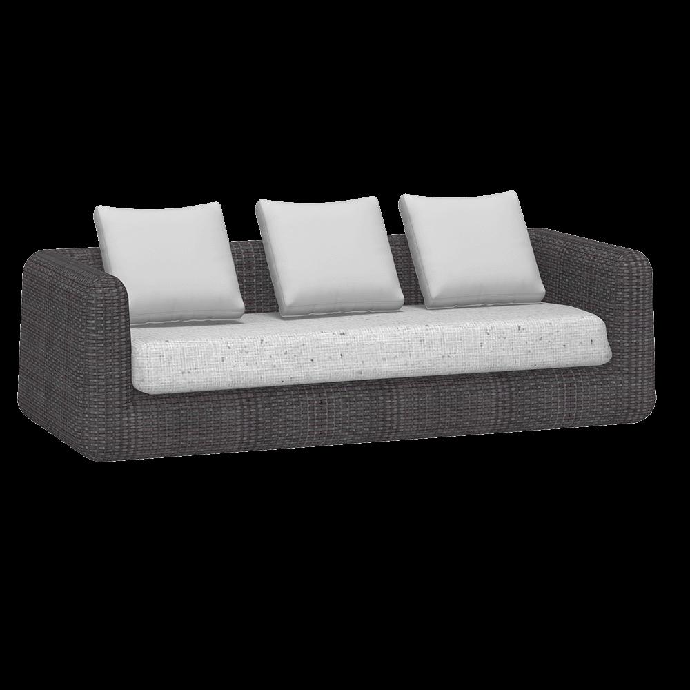 Градински триместен диван, колекция Agora