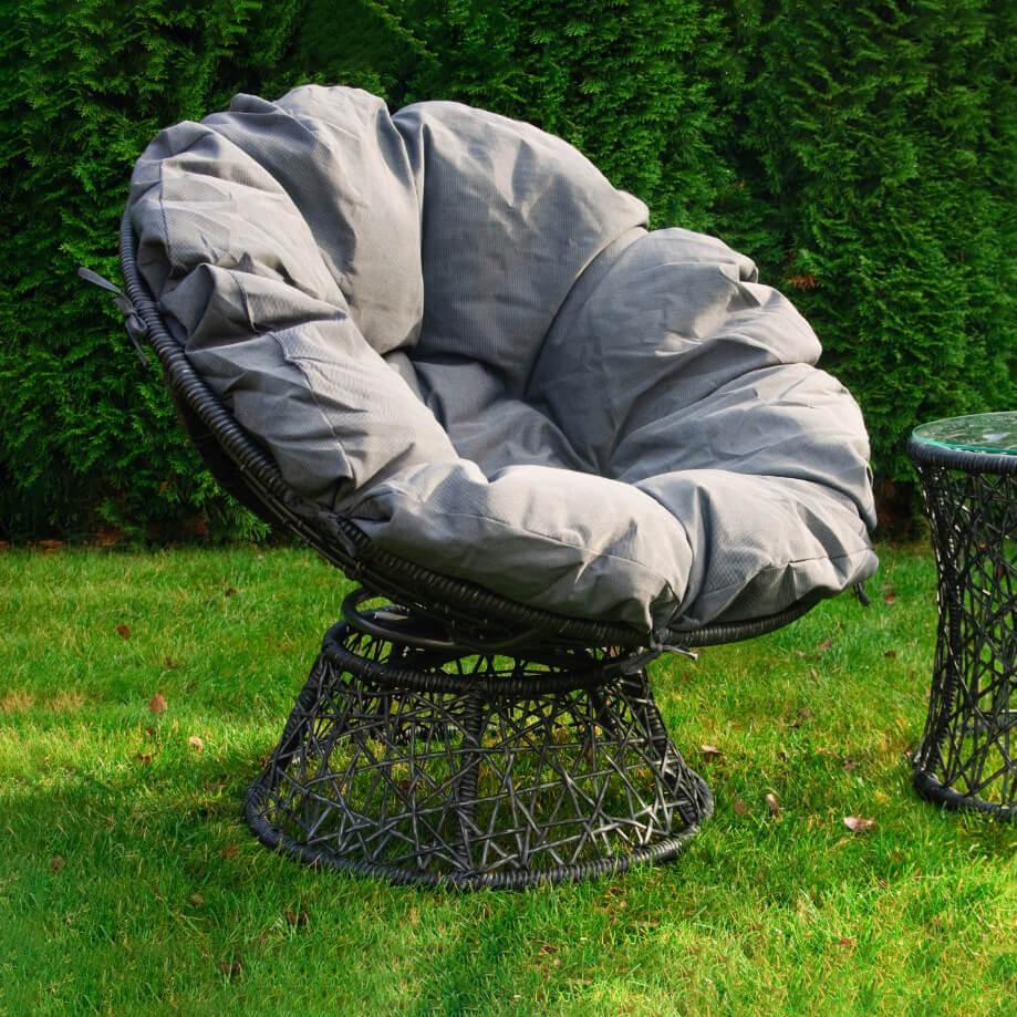 Градинско кресло с маса Twist