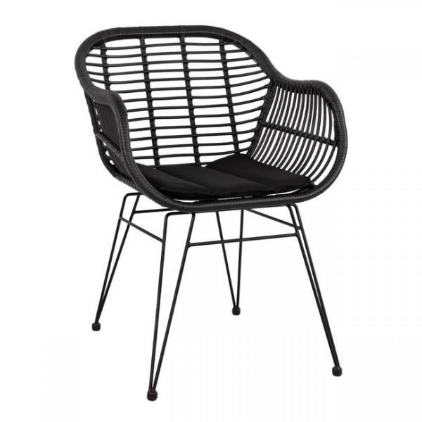 Градинско кресло Allegra 2 Black