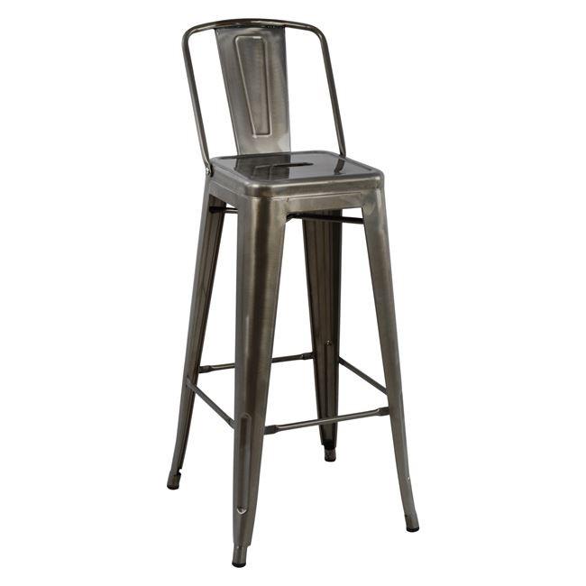 Градински бар стол Metalita