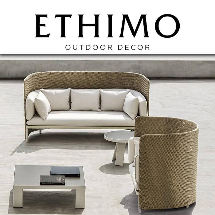 Градинска колекция Esedra, от Ethimo