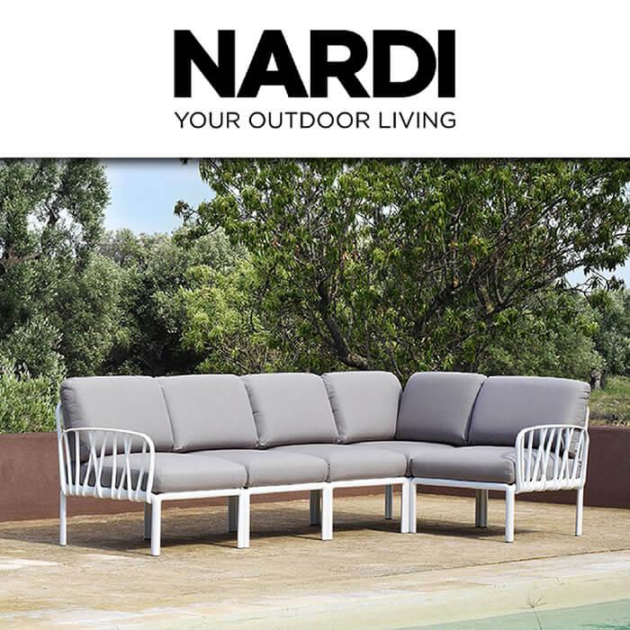Градинска колекция Komodo от Nardi