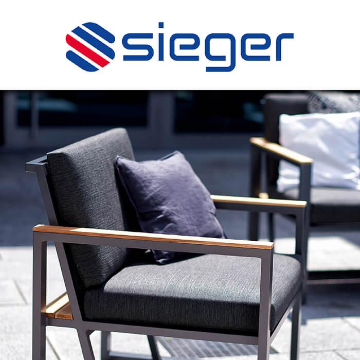 Каталог градински мебели Sieger