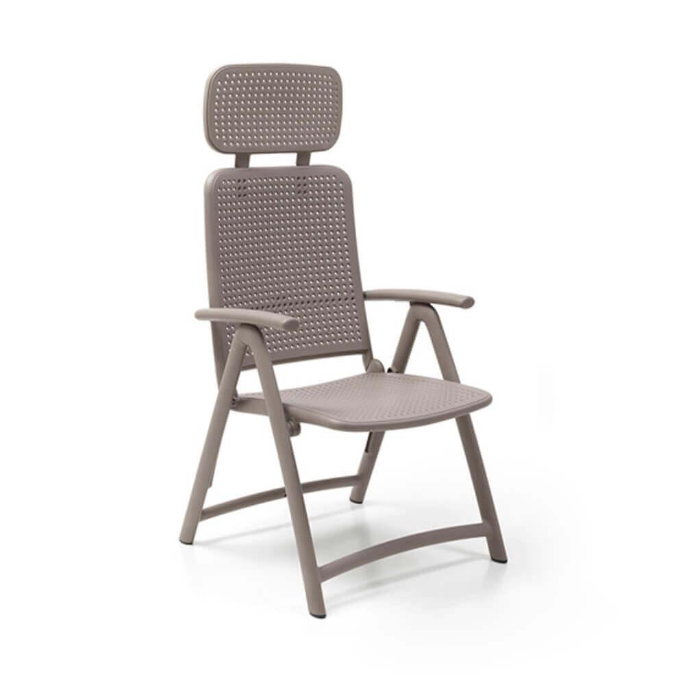 Сгъваем градински стол Acquamarina Tortora