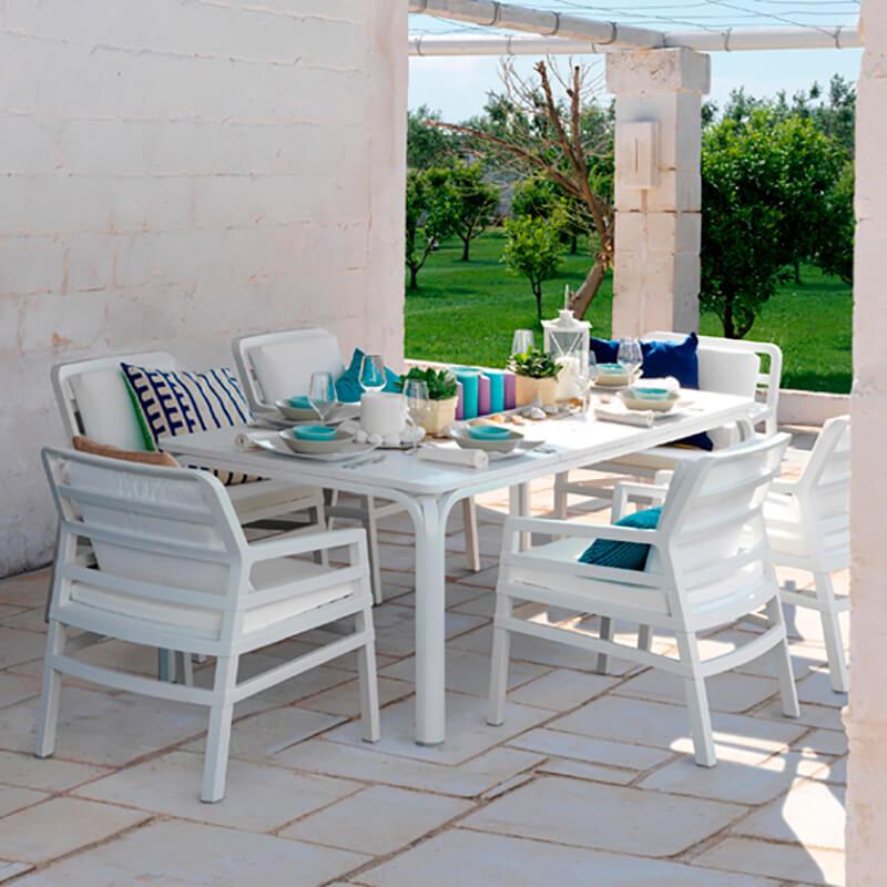 Alloro 140 Outdoor Table Esteta Interiori