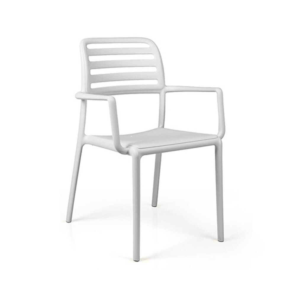 Градински стол с подлакътници Costa