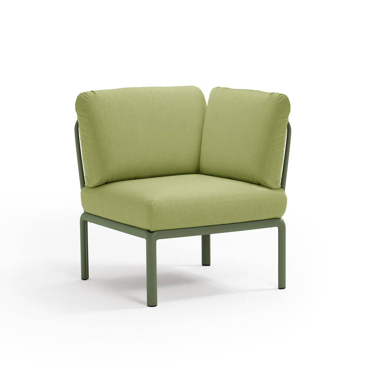 Градинскo ъглово кресло Komodo, agave