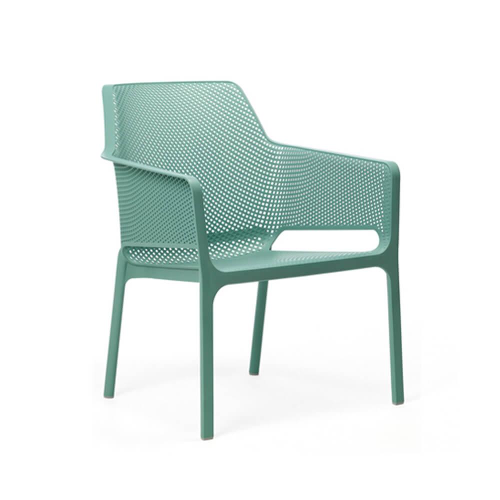 Градински стол с подлакътници Net Relax Salice