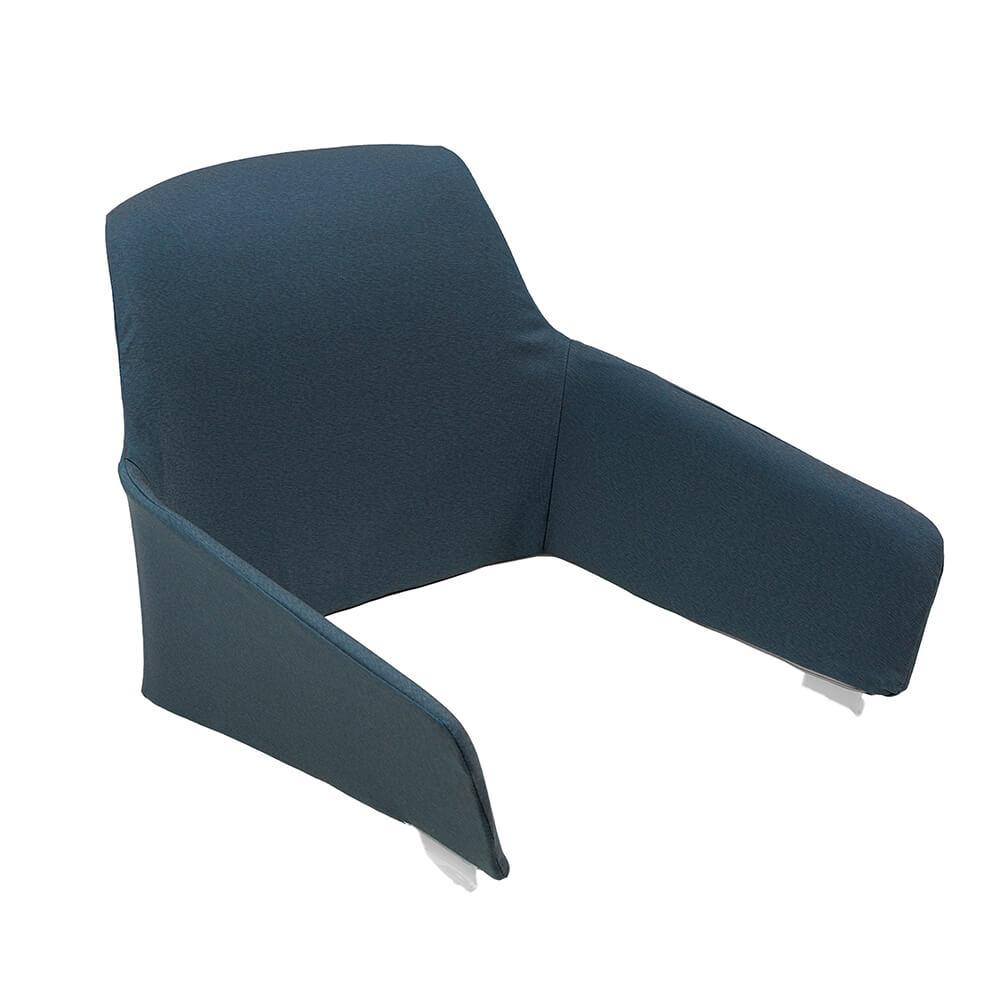 Възглавница за облегалка за стол Net relax Denim