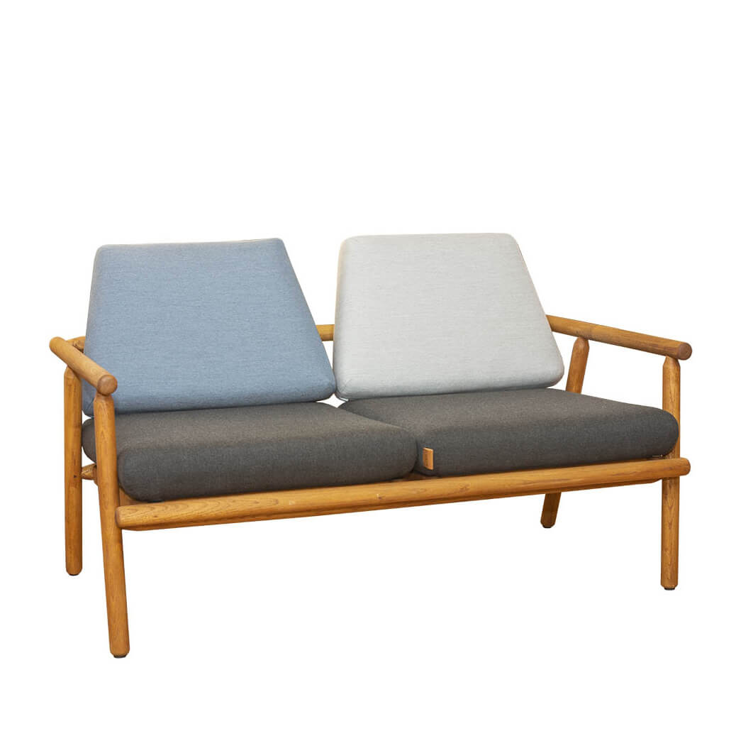 Градински двуместен диван, серия Baltic