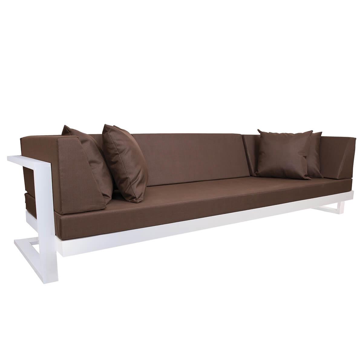 Градински троен диван, серия Toscania