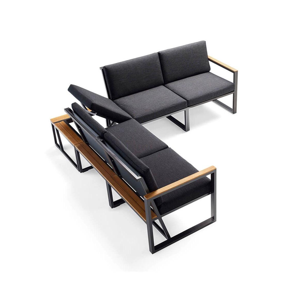 Градински ъглов диван I, колекция Havanna