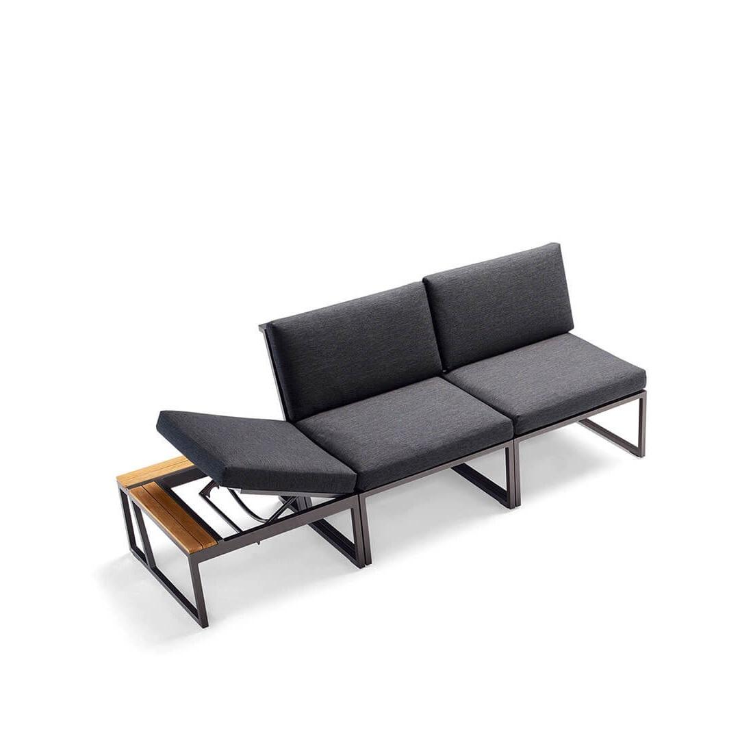 Градински триместен диван, колекция Havanna