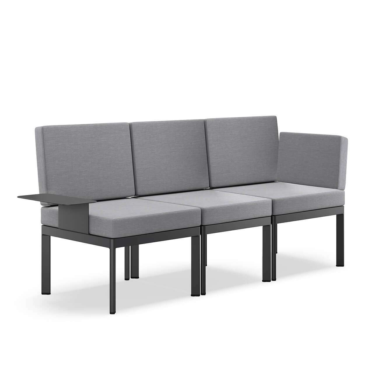 Градински триместен диван с масичка Lugo