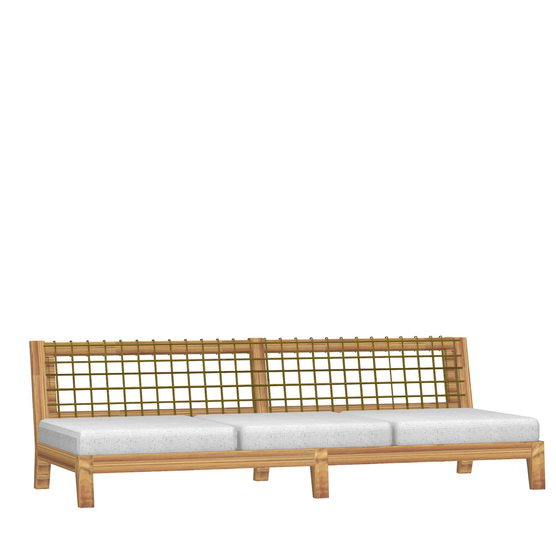 Градински диван-легло, колекция Synthesis
