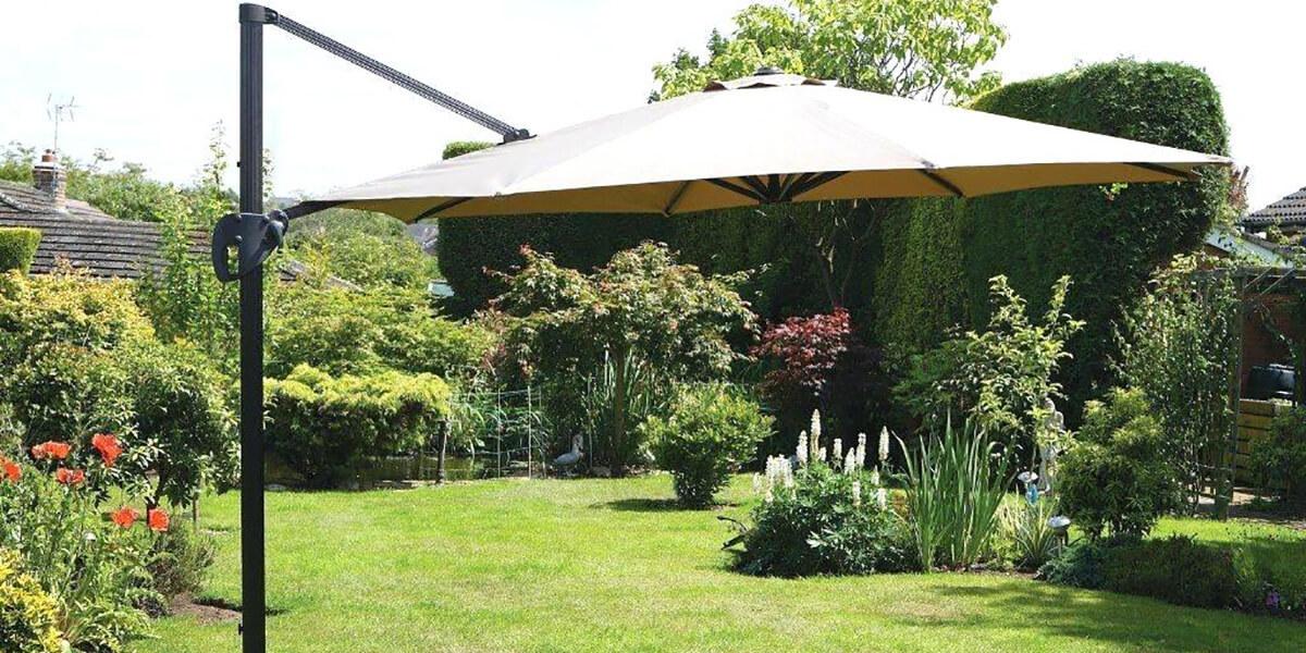 Градински чадъри и шатри