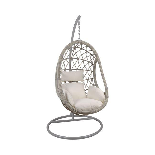 Градинска люлка Makan - бяла