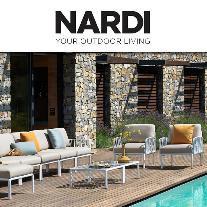 Каталог с Хорека предложения за градиснки мебели Nardi