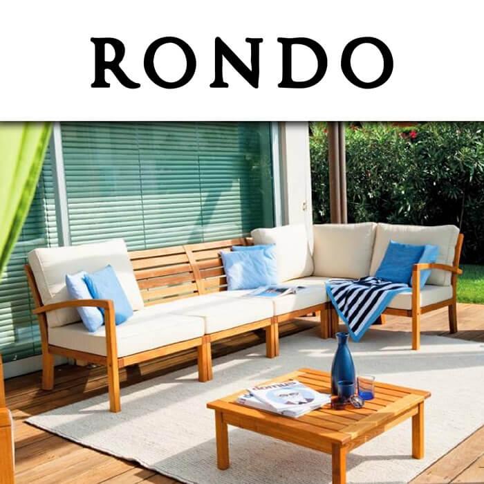 Каталог градински мебели Rondo
