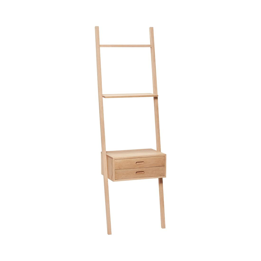 Етажерка стълба с чекмедже 880413